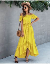 Obleka - koda 564 - rumena