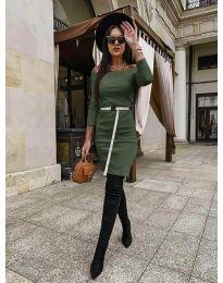 Obleka - koda 5190 - olivna