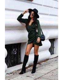 Obleka - koda 395 - olivna