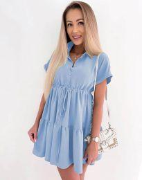 Obleka - koda 8889 - svetlo modra
