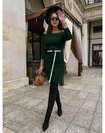 Obleka - koda 5190 - zelena