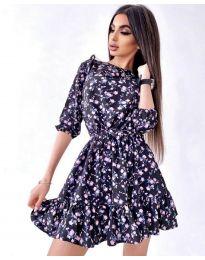 Obleka - koda 5910 - 2 - večbarvna