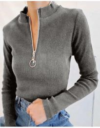Bluza - koda 2059 - 4 - siva