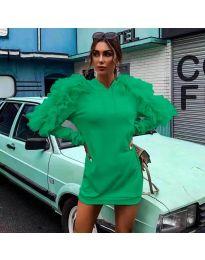 Obleka - koda 6383 - zelena