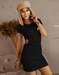 Obleka - koda 8556 - črna