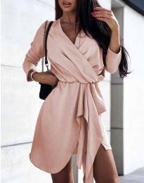 Obleka - koda 2879 - roza