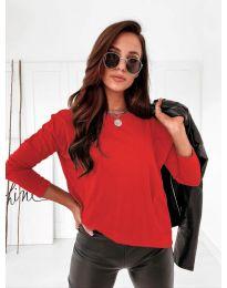 Bluza - koda 5582 - rdeča