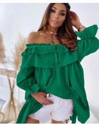 Obleka - koda 9865 - zelena
