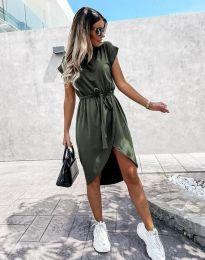 Obleka - koda 2074 - olivno zelena