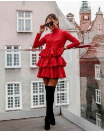 Obleka - koda 2951 - rdeča