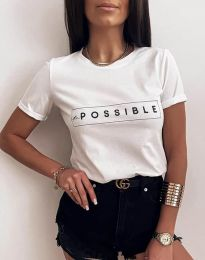 Majica - koda 2272 - bela