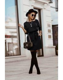 Obleka - koda 6100 - črna