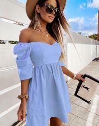 Obleka - koda 7413 - svetlo modra