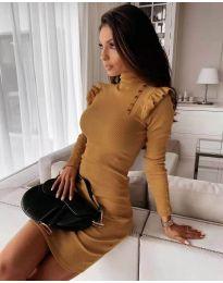 Obleka - koda 8484 - gorčica