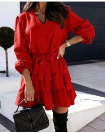 Obleka - koda 8272 - rdeča