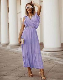 Obleka - koda 3320 - vijolična