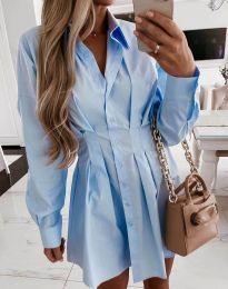 Obleka - koda 8141 - svetlo modra