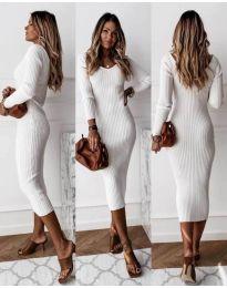 Obleka - koda 928 - bela
