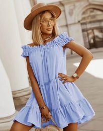 Obleka - koda 6969 - svetlo modra