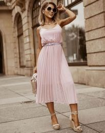 Obleka - koda 1249 - roza