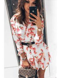 Obleka - koda 5514 - 1 - bela