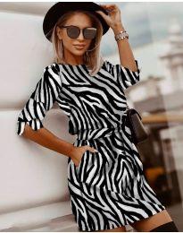 Obleka - koda 3060 - 3 - večbarvna