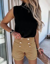 Kratke hlače - koda 6815 - rjav