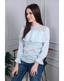 Bluza - koda 0628 - 1 - svetlo modra