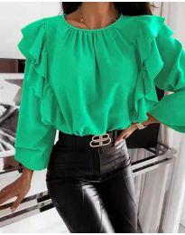 Bluza - koda 4445 - zelena