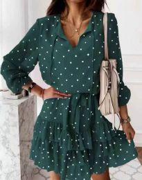 Obleka - koda 7113 - zelena