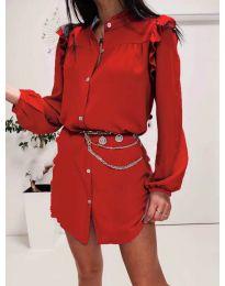 Obleka - koda 3433 - rdeča