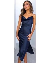 Obleka - koda 7161 - modra