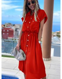 Obleka - koda 0014 - rdeča