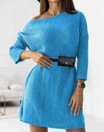 Obleka - koda 5142 - svetlo modra