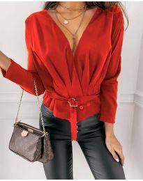 Bluza - koda 5525 - rdeča