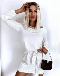 Obleka - koda 12038 - bela