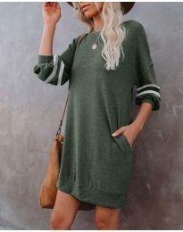 Obleka - koda 5925 - olivna