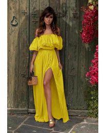 Obleka - koda 3336 - rumena