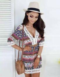 Obleka - koda 8306 - večbarvna