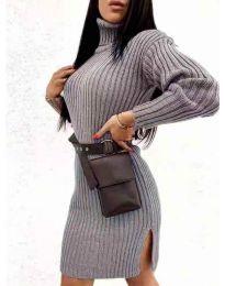 Obleka - koda 6867 - temno siva