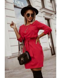 Obleka - koda 6100 - rdeča