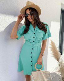 Obleka - koda 8137 - menta