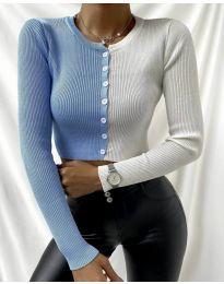 Bluza - koda 6366 - 3 - večbarvna