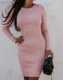 Obleka - koda 0891 - roza