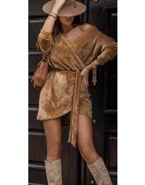 Obleka - koda 238 - rjava