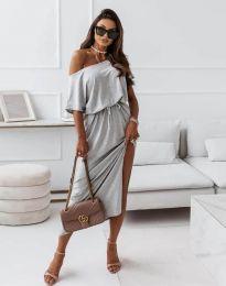 Obleka - koda 11973 - temno siva