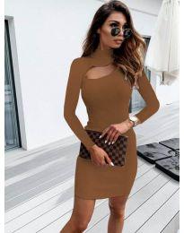 Obleka - koda 883 - rjava