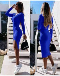 Obleka - koda 8291 - temno modra