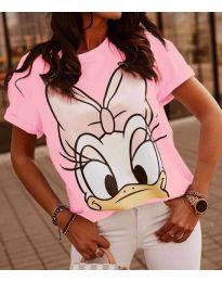 Majica - koda 4088 - 3 - roza