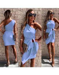 Obleka - koda 2457 - svetlo modra